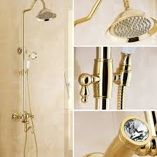 <b>Bathroom Shower</b> Head Golden <b>Shower</b> Head Sale, Price ...