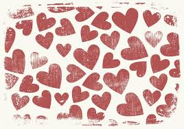 Grunge Style Hearts Background Download Free Vector Art Stock
