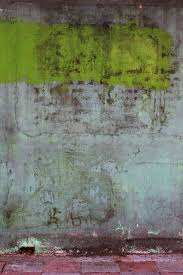 texture wall green color paint rough material painting concrete wall art modern art acrylic paint