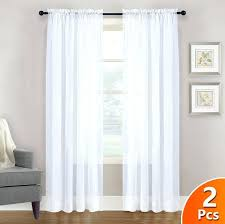rod pocket sheer curtains white sheer curtains panel window treatment rod pocket sheer voile ds for