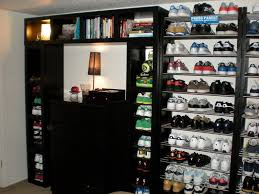 pictures gallery of elegant shoe shelving unit shoe storage unit tip showcase your glam shoes as art diy