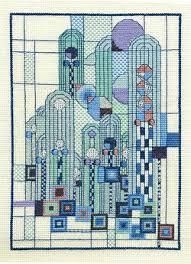 Art Deco Cross Stitch Charts New Art Deco Skyscape Cross Stitch Cross Stitch