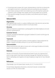 Student Part Time Resume Better Opinion