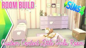 Powerpuff Girls Bedroom The Sims 4 Room Build Custom Content Little Girls Room Youtube