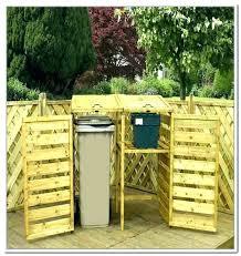outdoor garbage storage garbage can storage plans outdoor trash can storage outdoor garbage can storage bin