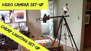How To Set Up Lighting For Video Shoot Cheap Lighting Video Set Up For Table Top Videos Unboxings