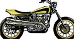 sweet tracker stock sportster to dirt track racer hot bike