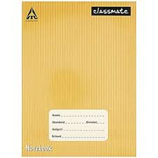 clmate notebook single line soft cover 120 pages pack of 6 pieces