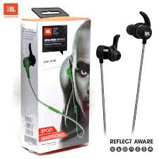 jbl earphones. jbl synchros reflect in ear sport headphones wired (7 day\u0027s checking warranty) jbl earphones