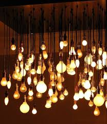 lightbulbs bare. Love This Idea Of Modern Chandelier (but What About When Incandescent Bulbs Become Illegal? Lightbulbs Bare W