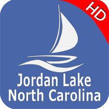 Jordan Chart Jordan Lake North Carolina Offline Gps Chart Amazon Co Uk