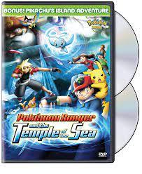 Pokemon Movie - Pokemon Ranger and the Temple of the Sea: Amazon.de: DVD &  Blu-ray