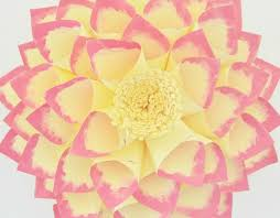 Dahlia Flower Making With Paper Dahlia Flower Paper Magdalene Project Org