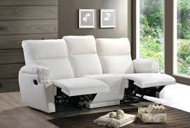 recliner sofa 3 seater leather sofas