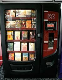 Odd Vending Machines Beauteous Vending Machines For Books Novel Idea Dispenses Literature Via