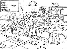 60 Welkom Op School Kleurplaat Kleurplaat 2019
