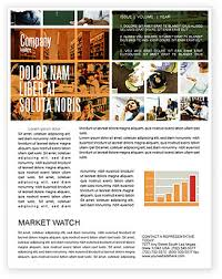 Education Newsletter Templates University Newsletter Templates In Microsoft Word Adobe