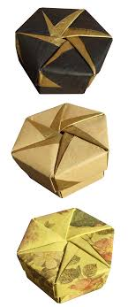 origami maniacs tomoko fuse´s origami hexagonal box by tomoko fuse enjoy these creations by many origami lovers and be creative an original and beautiful design good luck origami maniacs