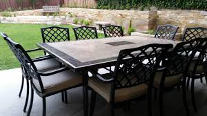outdoor dining stone rositano cast floine