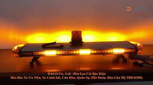 Đèn hộp cảnh báo xe ưu tiên LED Light Bar TBD-8300L dài 1.2m | Nhà Phân  phối Cung cấp Đèn Loa Còi Cảnh báo Báo hiệu Tín hiệu Patlite-Nhật Bản