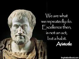 Aristotle Excellence Quote Beauteous Aristotle Quotes Inspiration Boost