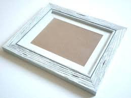 11x14 wood picture frame driftwood distressed shabby chic cottage cherry frames