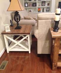 nice decoration white end tables for living room wonderful matching table design