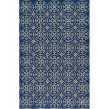 veranda blue starburst outdoor rug 9ft x 9ft