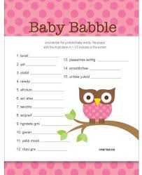 11+ baby shower games ideas for girl | thenightmare13.com