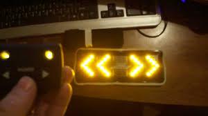 Cyclamatic Bike Lights Bike Signals Cyclists Indicator Lights Wireless System