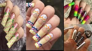 nail art compilation for long nails 2017 || Top Nail Art ...