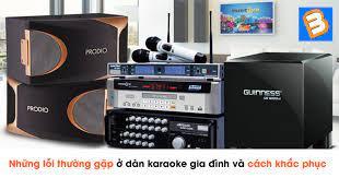 Những lỗi thường gặp ở dàn karaoke gia đình và cách khắc phục nhanh tại nhà