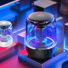 Loa Bluetooth 5.0 Siêu Trầm Có Đèn Led Phát Sáng