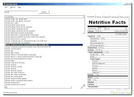 Nutrition Labels Template Nutrition Facts Template Hostingpremium Co