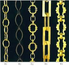 brass chain antique chandelier