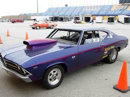 1969 Chevrolet Chevelle SS 1/8 mile Drag Racing timeslip 0-60 ...