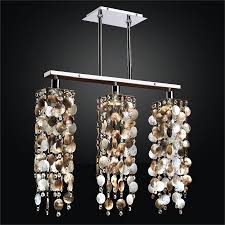 mother of pearl chandelier. Linear Chandelier - Mother Of Pearl | Chelsea 645 By GLOW® Lighting O