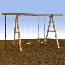 modern swing sets a frame wood swing set modern outdoor by modern outdoor swing sets