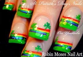 Robin Moses Nail Art: St. Patrick's Day Nail Art 2016