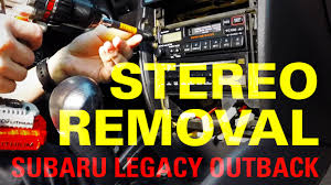 1997 1999 subaru legacy outback stereo removal youtube 1999 Subaru Legacy Wiring Harness 1999 Subaru Legacy Wiring Harness #63 08 Subaru Engine Harness
