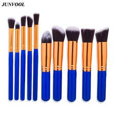 10in1 kabuki makeup brush set super soft high grade