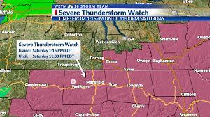 Severe Thunderstorm Watch has expired ...