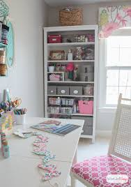 feminine home office. form meets function in this gorgeous space a combination craft room and feminine home office