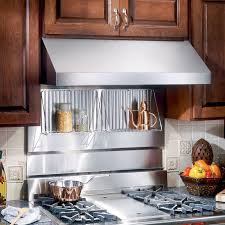 Stainless Steel Backsplash Kitchen Broan 48 Rangemaster Stainless Steel Backsplash Sears