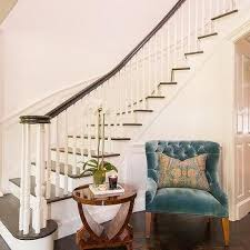 curved staircase wall table design ideas