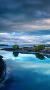france paris lake sky clouds dawn