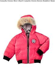 Canada Goose Size Chart Canada Goose Reese Bomber Sunset Pink Baby S Canada Goose Coats Canada Goose Outlet Online Best Selling Clearance