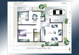 30 40 site duplex house plan x plans sample east facing home india