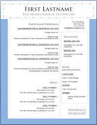 resume examples best modern resume template word free template resume examples word