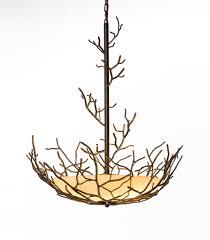 twig chandelier bronze twig chandelier